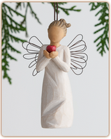 Willow Tree Nativity (R) - You're the Best! Ornament - 'Thank you for making a difference'