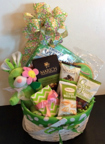 Gifts To Go Spring Delight Gift Basket Front View