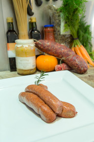 Thick BBQ Beef Sausage