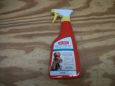No Bite Flea and Tick Spray (16oz)