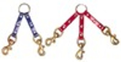 3 Dog Sunglo Coupler with Brass Snaps