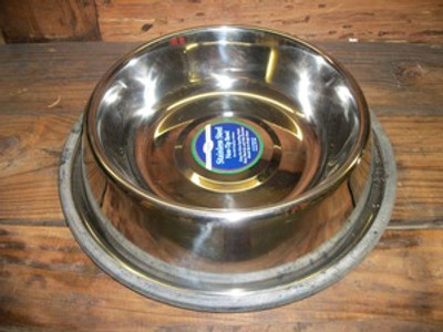 Non-Tip Stainless Steel 2qt. Bowl