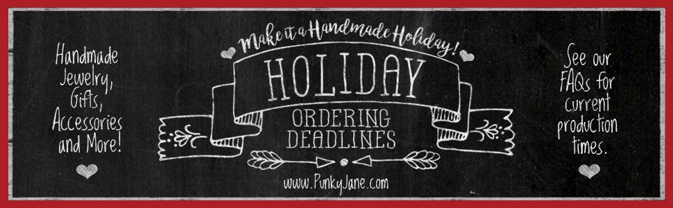 PJ Holiday Ordering Deadlines