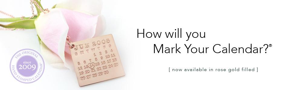 Mark Your Calendar Jewelry by Punky Jane