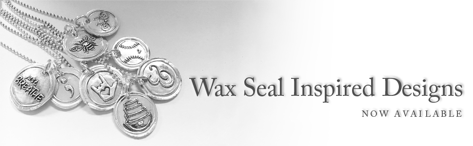 Wax Seal Jewelry by Punky Jane