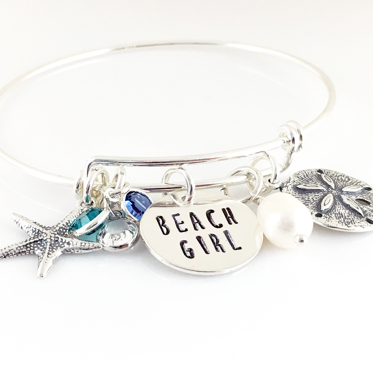 Beach Girl / Beach Life Simply Charming Bangle Bracelet