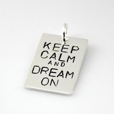 Add a 'Keep Calm and Dream On' Charm