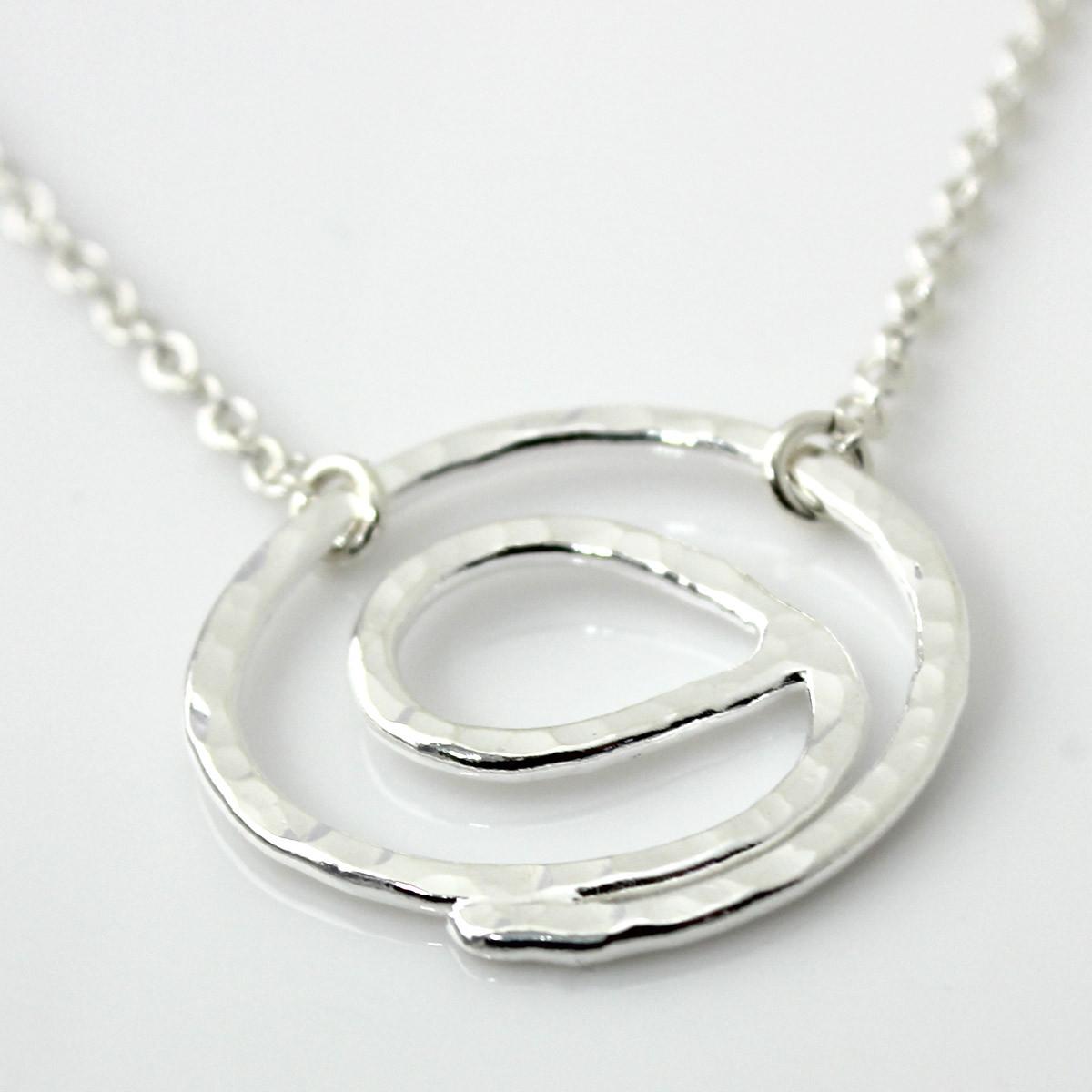 Gratitude symbol necklace fine silver gratitude symbol fine silver necklace buycottarizona Gallery