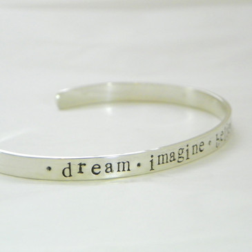 Personalized Sterling Cuff Bracelet