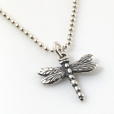 Dragonfly Simple Charm Necklace
