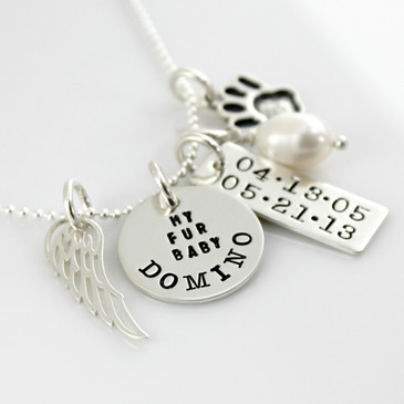Simply Charming Pet Memorial Necklace