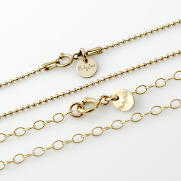 Start with a Gold-Filled Necklace Chain