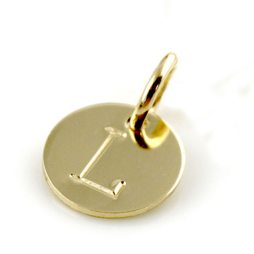 Add an Initial - ROUND Gold Filled