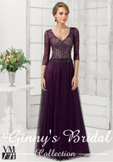 Pictured in Aubergine Color