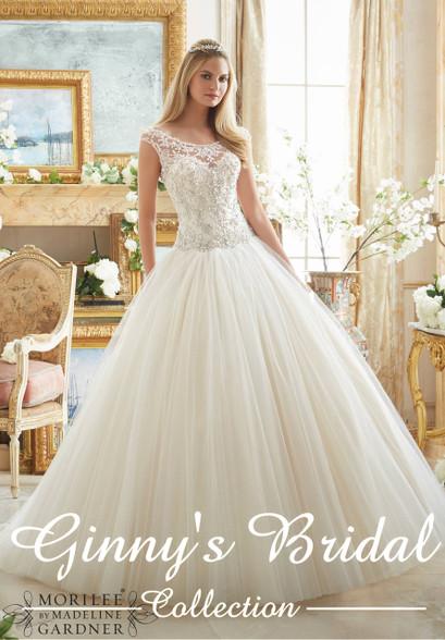 Mori Lee Bridal Wedding Dress 2884, Buy Authentic Mori Lee Online ...