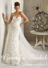 Angelina Faccenda Couture Bridal Gown by Mori Lee 1284