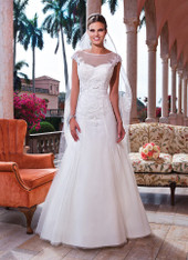 Sweetheart by Justin Alexander Bridal Dress 6067 Ivory Size 12 on Sale