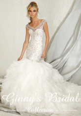Angelina Faccenda Couture Bridal Gown by Mori Lee 1256