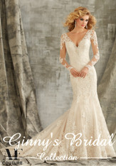 Angelina Faccenda Couture Bridal Gown by Mori Lee 1350