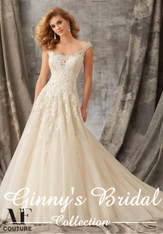 Angelina Faccenda Couture Bridal Gown by Mori Lee 1351