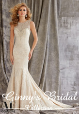 Angelina Faccenda Couture Bridal Gown by Mori Lee 1352