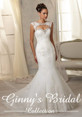 AF Angelina Faccenda Couture by Mori Lee Wedding Dress 1285 White Size 14 on Sale