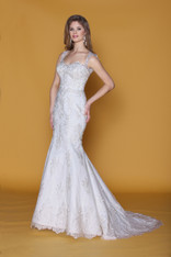 Impression Bridal Couture Wedding Dress 12736 Ivory Size 12 on Sale