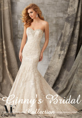 Angelina Faccenda Couture Bridal Gown by Mori Lee 1353