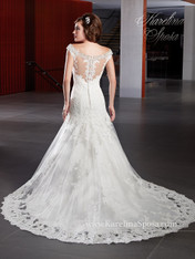Karelina Sposa Exclusive by Mary's Bridal Wedding Dress C8003 Ivory Size 14 on Sale