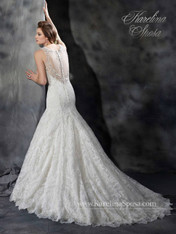 Karelina Sposa Exclusive by Mary's Bridal Wedding Dress C8043 Ivory Size 16 on Sale