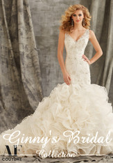 Angelina Faccenda Couture Bridal Gown by Mori Lee 1354