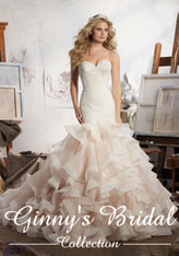 Mori Lee Bridal Wedding Dress Style Maisie 8111
