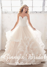 Mori Lee Bridal Wedding Dress Style Marcia 8116