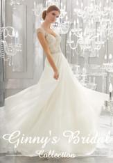 Mori Lee Bridal Wedding Dress Style Mollie 8182