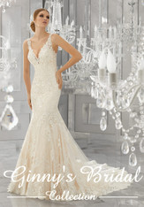 Mori Lee Bridal Wedding Dress Style Madora 8186