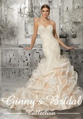 Mori Lee Bridal Wedding Dress Style Mirjana 8189