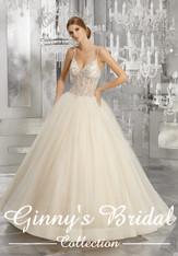 Mori Lee Bridal Wedding Dress Style Midori 8194