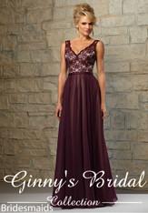 Mori Lee Bridesmaids Dress Style 714