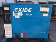 EXIDE 36 VOLT FORKLIFT BATTERY CHARGER 865 AH