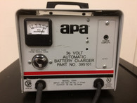 APA  BATTERY CHARGER INPUT 120 VAC OUTPUT 36 VOLT 20 AMPS