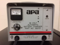 APA  BATTERY CHARGER INPUT: 120 VAC, OUTPUT: 36 VOLT 20 AMPS