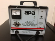 APA  BATTERY CHARGER INPUT 120 VAC, OUTPUT 36 VOLT, 20 AMPS