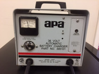 APA  BATTERY CHARGER INPUT 120 VAC OUTPUT: 36 VOLT 20 AMPS
