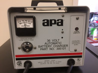APA  BATTERY CHARGER INPUT 120 VAC OUTPUT 36 VOLT, 20 AMPS