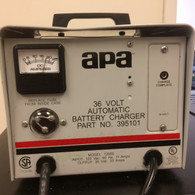 APA  BATTERY CHARGER INPUT 120 VAC OUTPUT 36 VOLT 20 AMPS,