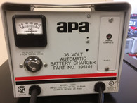 APA  BATTERY CHARGER INPUT 120 VAC OUTPUT 36 VOLT 20 AMPS,,