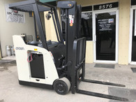 2008 RC5530C-30 Crown Electric Forklift, Narrow Aisle, Dockstocker