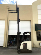 2010 Crown Electric Forklift RC5520-30, Dockstocker, Narrow Aisle 9847
