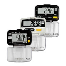 Digi 1st Pedometer with Step, Distance & Activity Time. This simple pedometer tracks step, distance in mile, and activity time all at the same time. Buy pedometers in bulk with our great discounts. Custom imprint available.