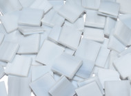 Bulk Discount - Pale Gray Streaky Opal Stained Glass Mosaic Tiles